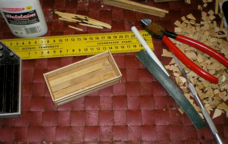 Bemalungen, Umbauten, Eigenbau - Gebäude mit Bodenplatten für meine Dioramen 006a2_10