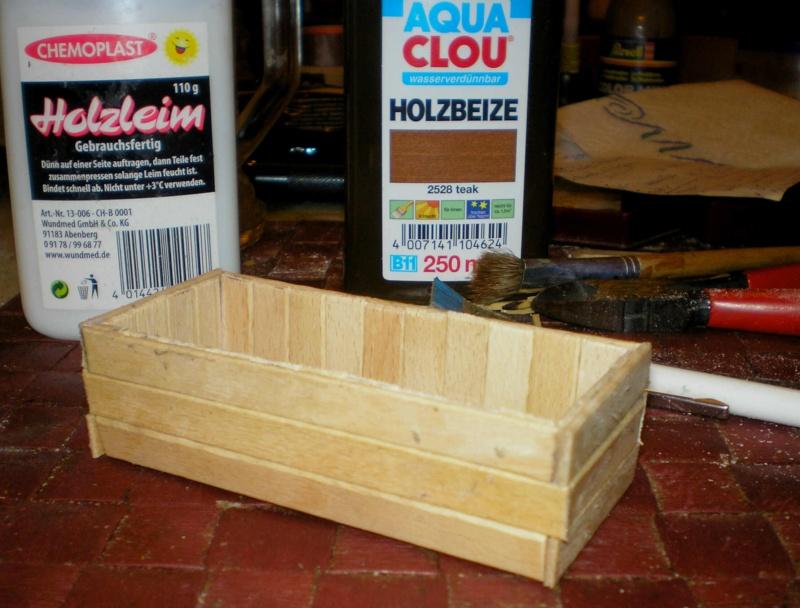 Bemalungen, Umbauten, Eigenbau - Gebäude mit Bodenplatten für meine Dioramen 006a3_10
