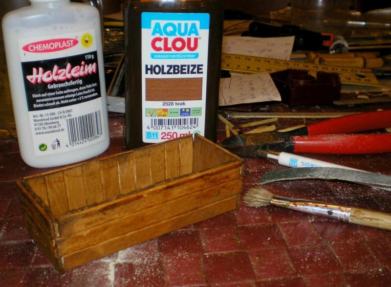 Bemalungen, Umbauten, Eigenbau - Gebäude mit Bodenplatten für meine Dioramen 006b_p10