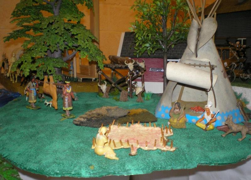 Bemalungen, Umbauten, Modellierungen – neue Indianer für meine Dioramen 009_2041
