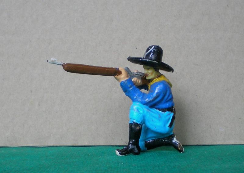 Bemalungen, Umbauten, Modellierungen - neue Cowboys für meine Dioramen 081b1_10