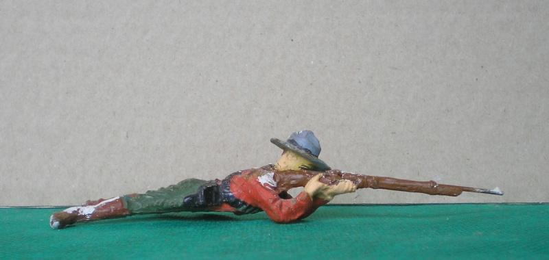 Bemalungen, Umbauten, Modellierungen - neue Cowboys für meine Dioramen 081b2_10