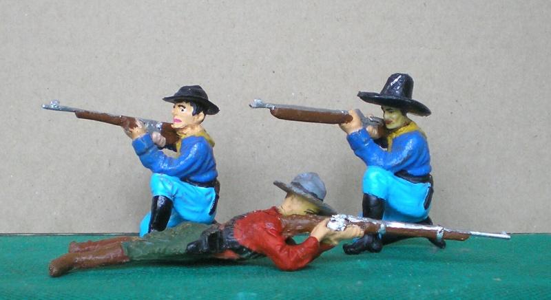 Bemalungen, Umbauten, Modellierungen - neue Cowboys für meine Dioramen 081c_r10