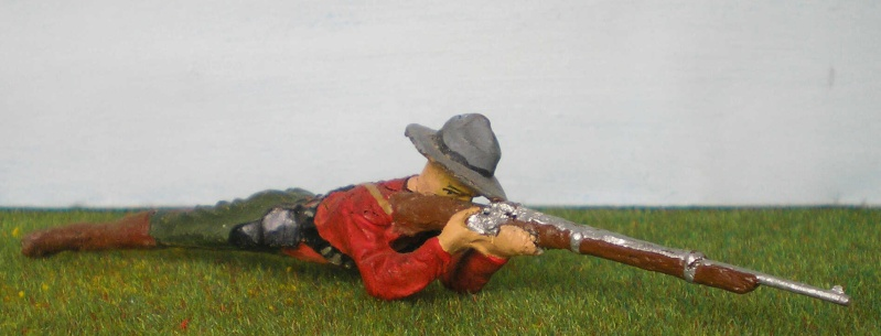 Bemalungen, Umbauten, Modellierungen - neue Cowboys für meine Dioramen 081d3_10