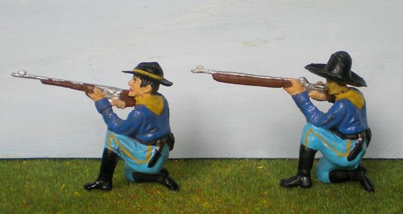 Bemalungen, Umbauten, Modellierungen - neue Cowboys für meine Dioramen 081e1_10
