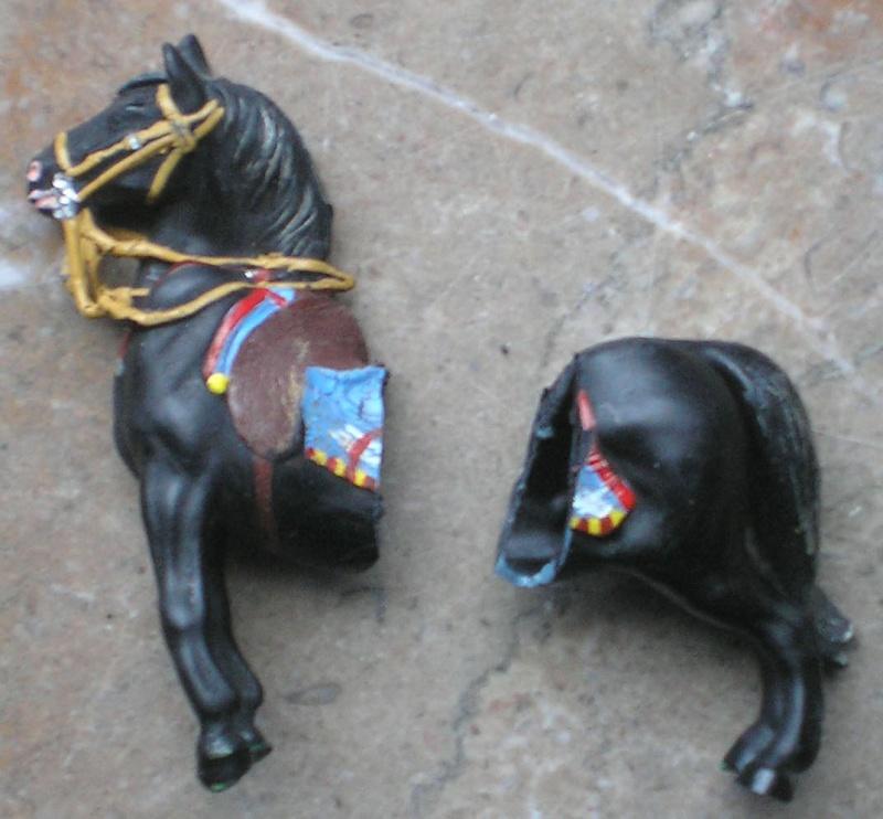 Bemalungen, Umbauten, Modellierungen – neue Indianer für meine Dioramen 083b_g10