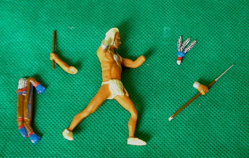 Bemalungen, Umbauten, Modellierungen – neue Indianer für meine Dioramen 105b3a10