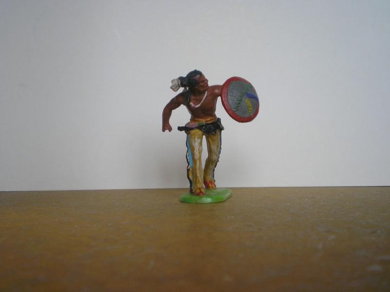 Bemalungen, Umbauten, Modellierungen – neue Indianer für meine Dioramen 108a_r10