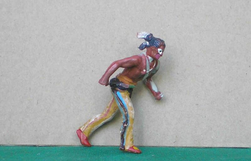 Bemalungen, Umbauten, Modellierungen – neue Indianer für meine Dioramen 108d2b10