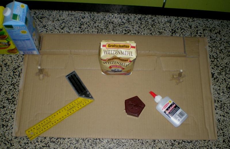 Bemalungen, Umbauten, Eigenbau - Gebäude mit Bodenplatten für meine Dioramen 149a1_10