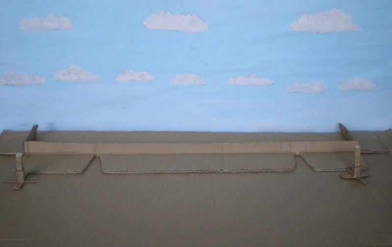 Bemalungen, Umbauten, Eigenbau - Gebäude mit Bodenplatten für meine Dioramen 149a2_10