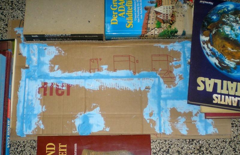 Bemalungen, Umbauten, Eigenbau - Gebäude mit Bodenplatten für meine Dioramen 149b_b10
