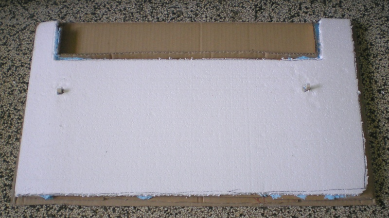 Bemalungen, Umbauten, Eigenbau - Gebäude mit Bodenplatten für meine Dioramen 149c1_10