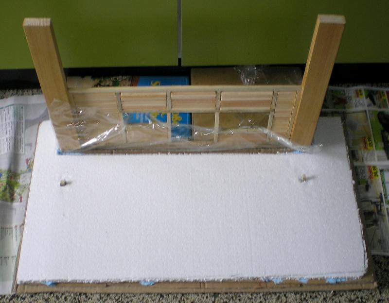 Bemalungen, Umbauten, Eigenbau - Gebäude mit Bodenplatten für meine Dioramen 149c2_10