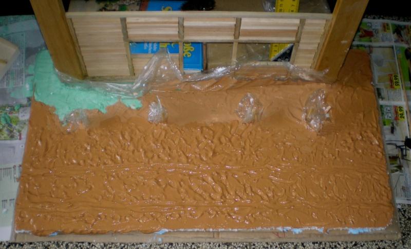 Bemalungen, Umbauten, Eigenbau - Gebäude mit Bodenplatten für meine Dioramen 149d3_10