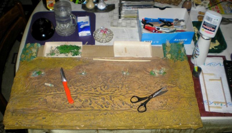 Bemalungen, Umbauten, Eigenbau - Gebäude mit Bodenplatten für meine Dioramen 149g1_10
