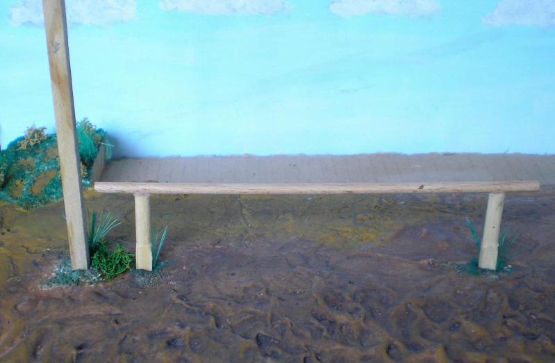 Bemalungen, Umbauten, Eigenbau - Gebäude mit Bodenplatten für meine Dioramen 149g2c10