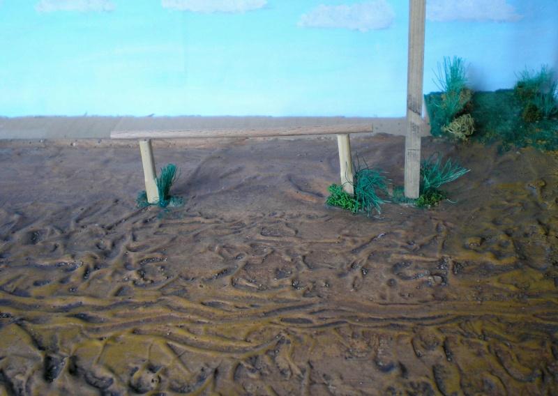 Bemalungen, Umbauten, Eigenbau - Gebäude mit Bodenplatten für meine Dioramen 149g2d10