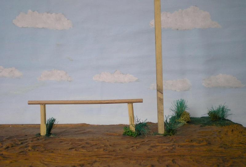 Bemalungen, Umbauten, Eigenbau - Gebäude mit Bodenplatten für meine Dioramen 149g2f10
