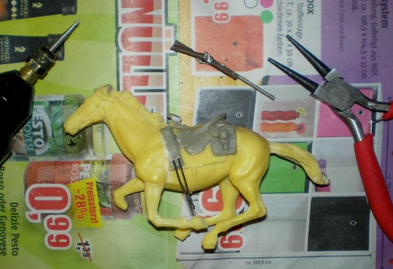 Bemalungen, Umbauten, Modellierungen - neue Cowboys für meine Dioramen 151a1b10