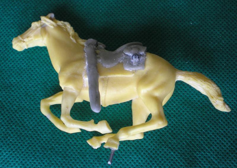 Bemalungen, Umbauten, Modellierungen - neue Cowboys für meine Dioramen 151a1c10