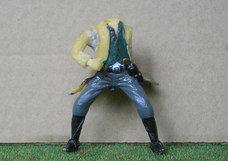 Bemalungen, Umbauten, Modellierungen - neue Cowboys für meine Dioramen 151e1_10