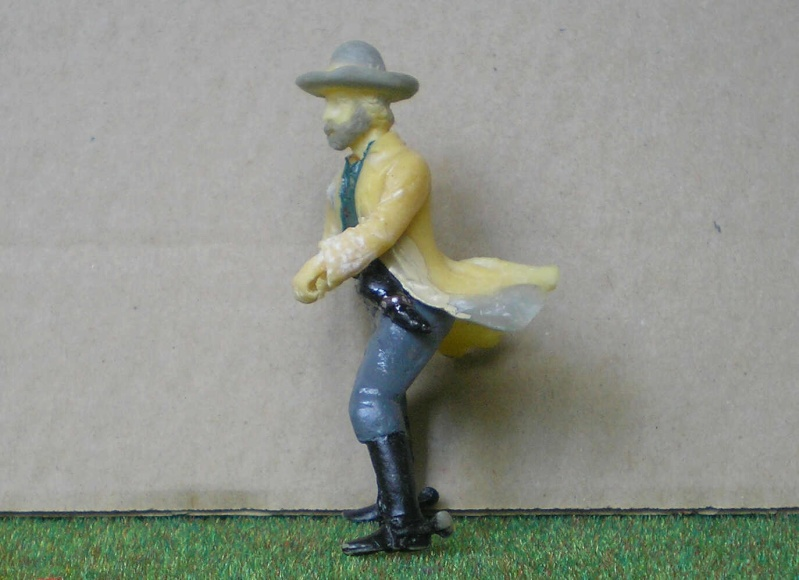 Bemalungen, Umbauten, Modellierungen - neue Cowboys für meine Dioramen 151e2b10
