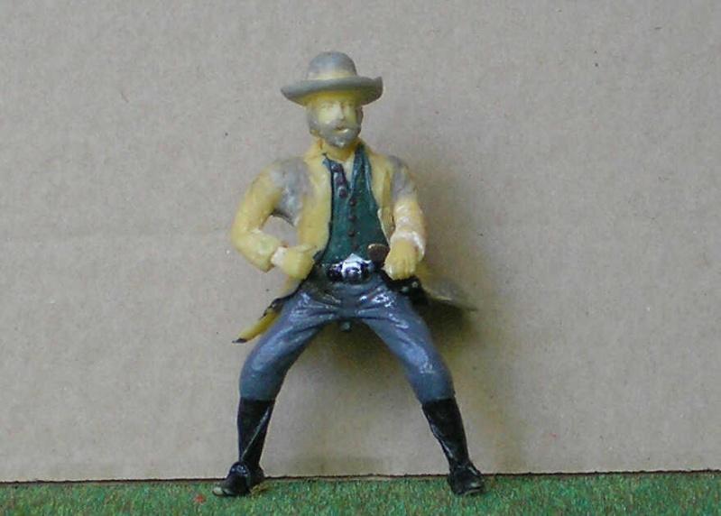 Bemalungen, Umbauten, Modellierungen - neue Cowboys für meine Dioramen 151e3a10