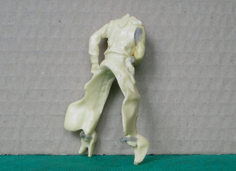 Bemalungen, Umbauten, Modellierungen - neue Cowboys für meine Dioramen 152b2b10