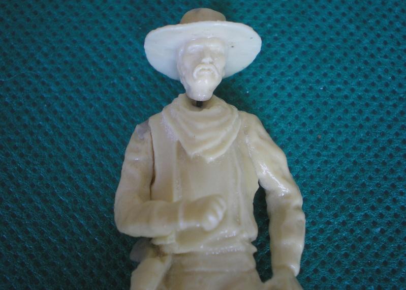 Bemalungen, Umbauten, Modellierungen - neue Cowboys für meine Dioramen 152b4a10