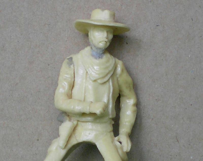 Bemalungen, Umbauten, Modellierungen - neue Cowboys für meine Dioramen 152b4b10