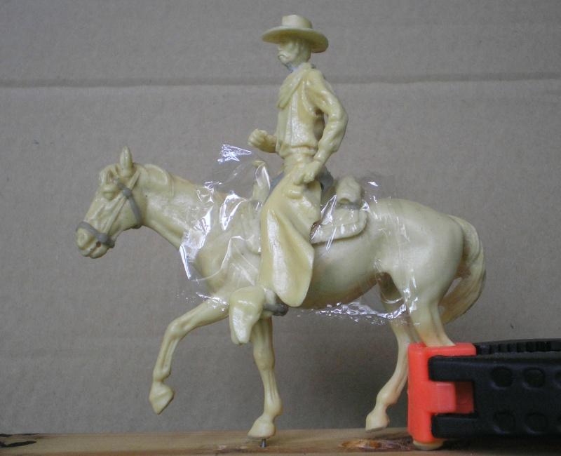 Bemalungen, Umbauten, Modellierungen - neue Cowboys für meine Dioramen 152c1_10