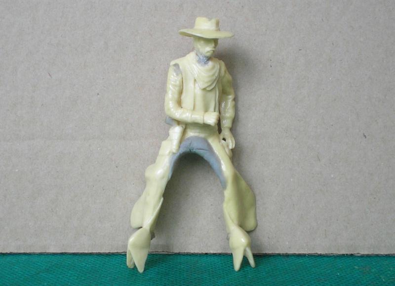 Bemalungen, Umbauten, Modellierungen - neue Cowboys für meine Dioramen 152c2a10