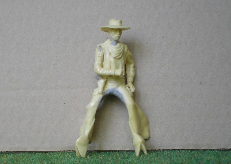 Bemalungen, Umbauten, Modellierungen - neue Cowboys für meine Dioramen 152c3a10