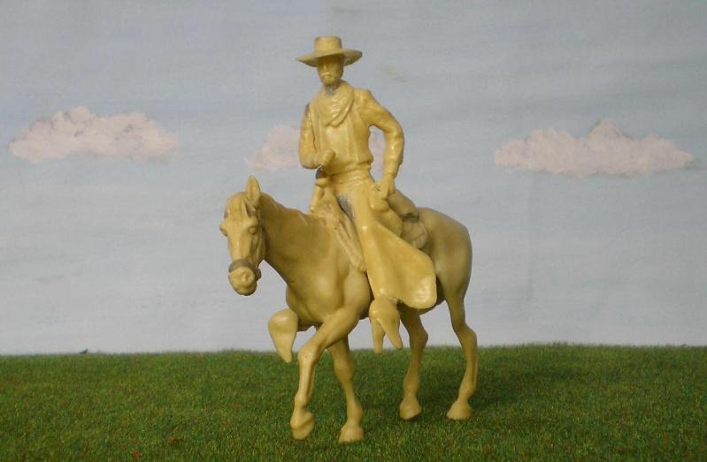 Bemalungen, Umbauten, Modellierungen - neue Cowboys für meine Dioramen 152c3b10