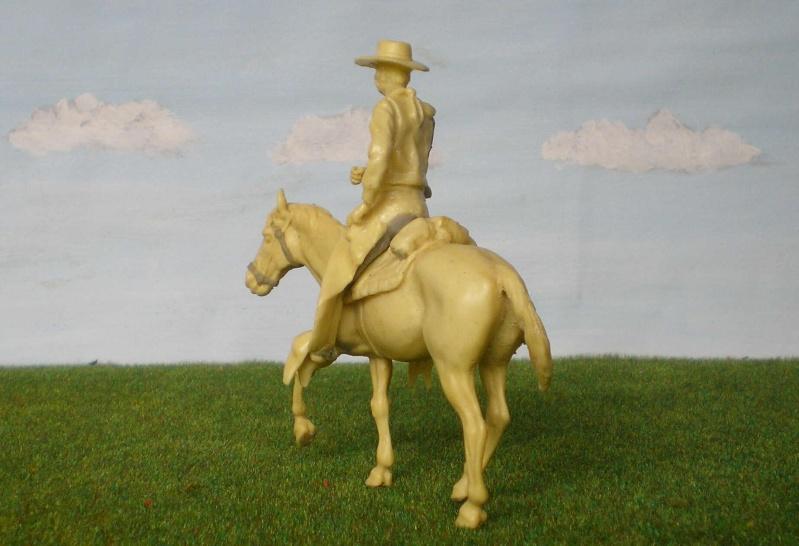 Bemalungen, Umbauten, Modellierungen - neue Cowboys für meine Dioramen 152c3b11