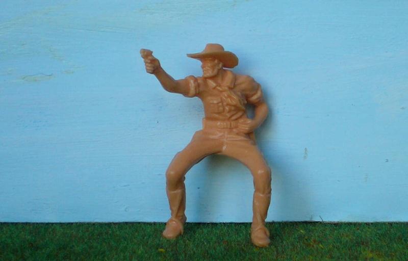 Bemalungen, Umbauten, Modellierungen - neue Cowboys für meine Dioramen 170d1_10