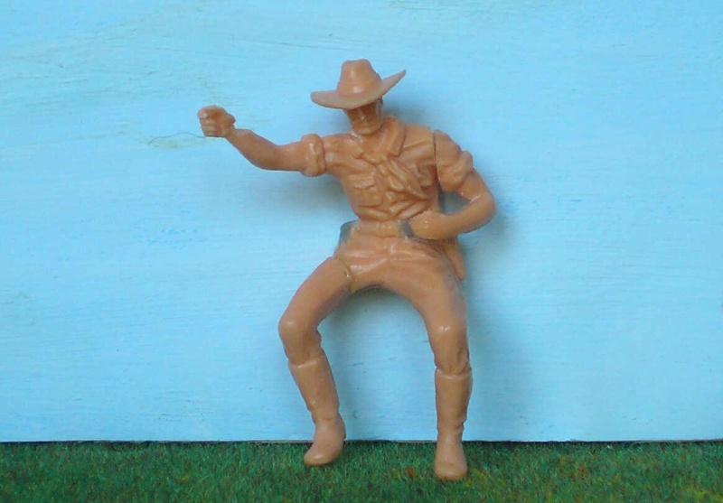 Bemalungen, Umbauten, Modellierungen - neue Cowboys für meine Dioramen 170d2c10