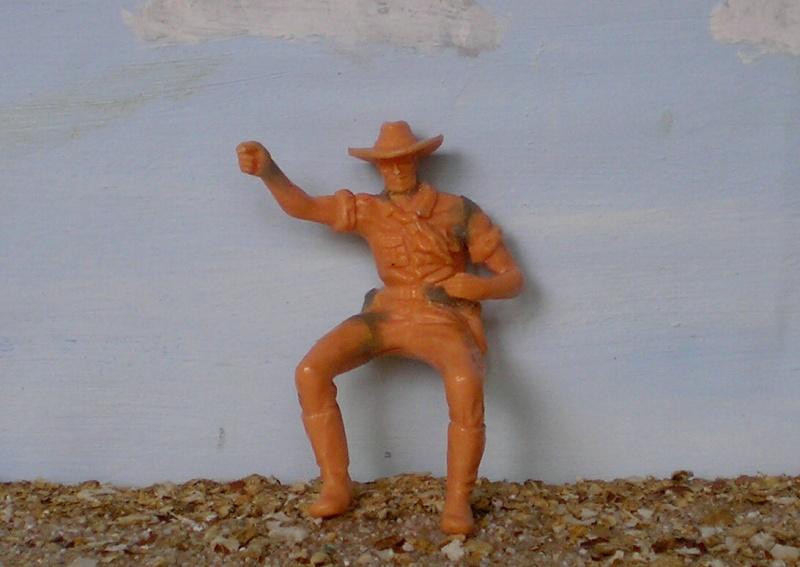 Bemalungen, Umbauten, Modellierungen - neue Cowboys für meine Dioramen 170d2d10