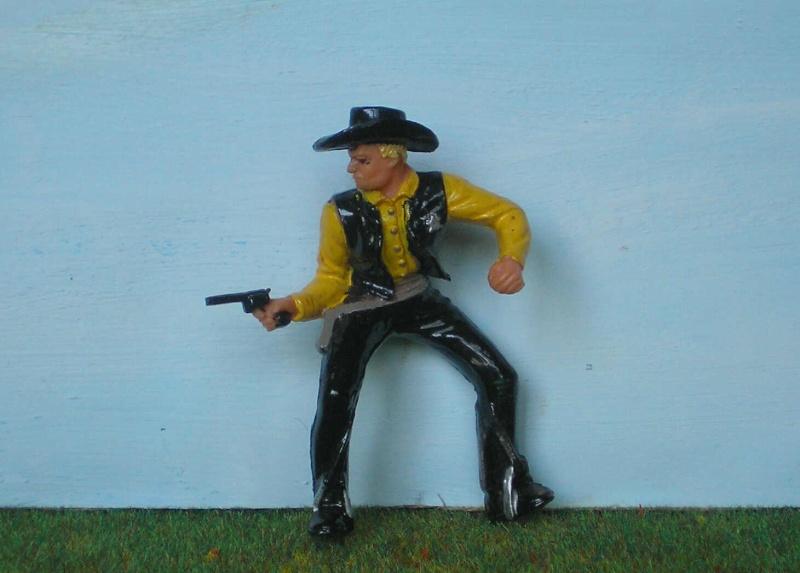 Bemalungen, Umbauten, Modellierungen - neue Cowboys für meine Dioramen 170e1_10