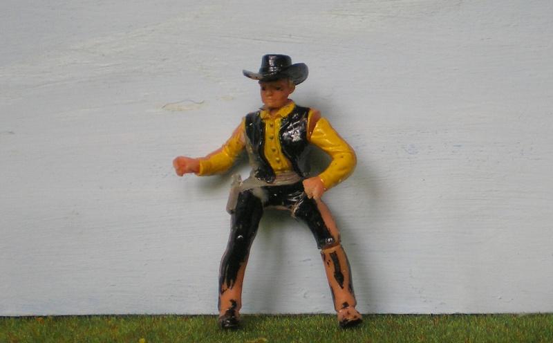 Bemalungen, Umbauten, Modellierungen - neue Cowboys für meine Dioramen 170e2d10