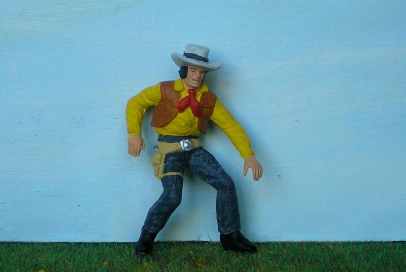 Bemalungen, Umbauten, Modellierungen - neue Cowboys für meine Dioramen 176a1_10