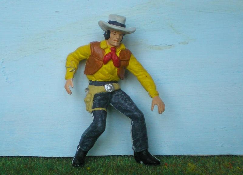 Bemalungen, Umbauten, Modellierungen - neue Cowboys für meine Dioramen 176a2b10