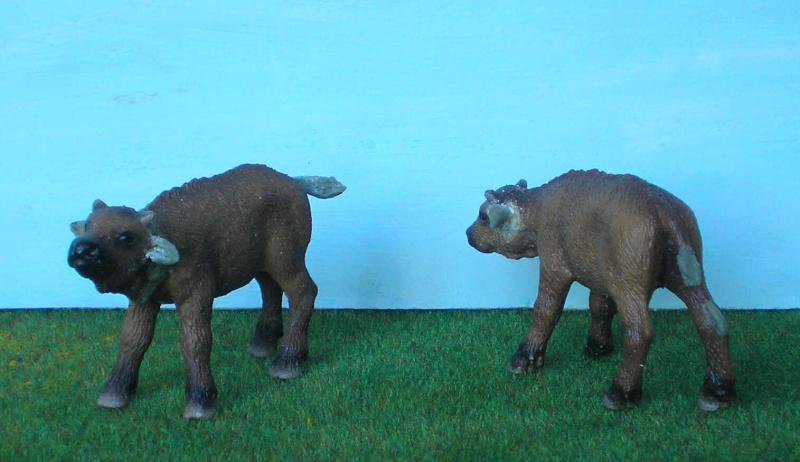 Bemalungen, Umbauten, Modellierungen - neue Tiere für meine Dioramen 177b4_10