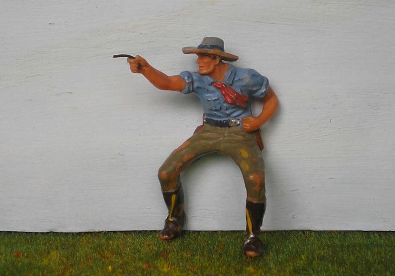 Bemalungen, Umbauten, Modellierungen - neue Cowboys für meine Dioramen 180a2_11