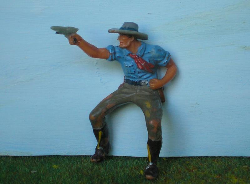 Bemalungen, Umbauten, Modellierungen - neue Cowboys für meine Dioramen 180a3_11