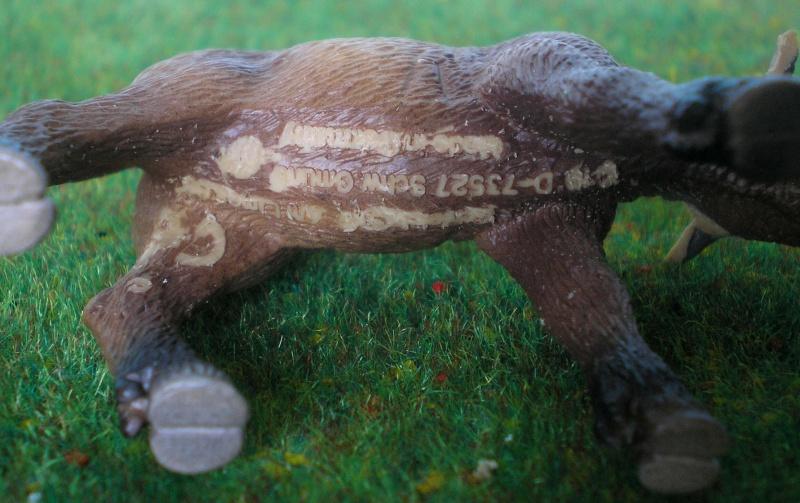 Bemalungen, Umbauten, Modellierungen - neue Tiere für meine Dioramen 180b1_10