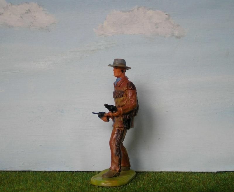 Bemalungen, Umbauten, Modellierungen - neue Cowboys für meine Dioramen 180b2_11