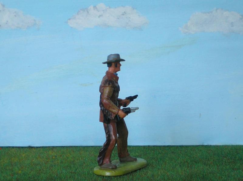Bemalungen, Umbauten, Modellierungen - neue Cowboys für meine Dioramen 180b3_11