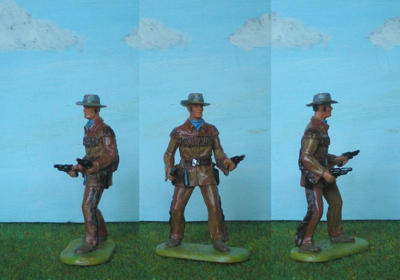 Bemalungen, Umbauten, Modellierungen - neue Cowboys für meine Dioramen 180b4a10
